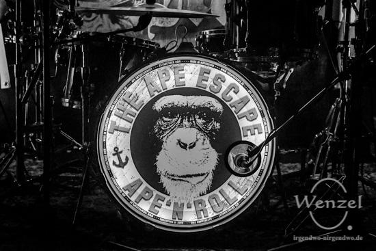 The Ape Escape, Magdeburg, Studentenclub Baracke –  Foto Wenzel-Oschington.de