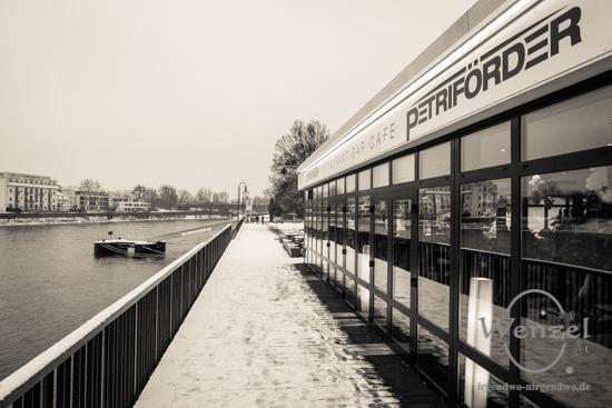 Winterspaziergang, Magdeburg, Petriförder –  Foto Wenzel-Oschington.de