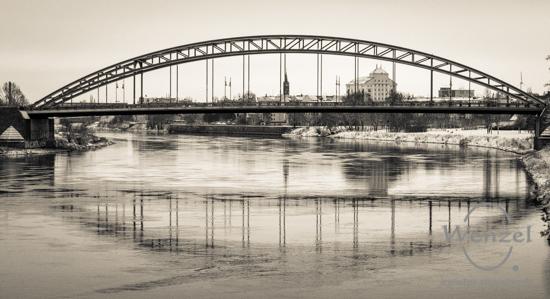Winterspaziergang, Magdeburg, Sternbrücke –  Foto Wenzel-Oschington.de