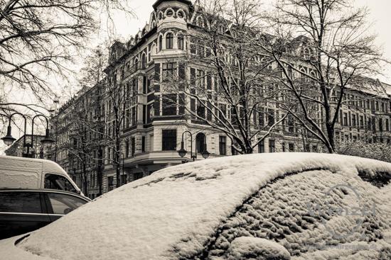 Winterspaziergang, Magdeburg, Liebigstraße –  Foto Wenzel-Oschington.de