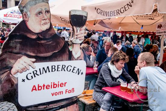 Magdeburger Bierbörse, Hopfen, Malz, Reinheitsgebot, Alter Markt, Magdeburg –  Foto Wenzel-Oschington.de