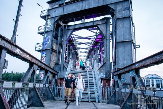 Magdeburg 2025, Ottostadt, Kulturhauptstadt Magdeburg, ECOC 2025, European Capitals of Culture, Hubbrücke, Whoopbrücke, Deep House, Techno, Electro, House, Elbe –  Foto Wenzel-Oschington.de