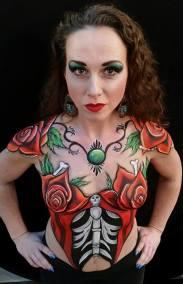 Body paint uiterlijke verzorgings beurs gorinchem irguna designs door irguna Bronk