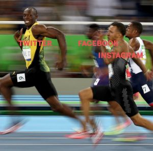 Twitter CEO reacts to Usain Bolt's meme
