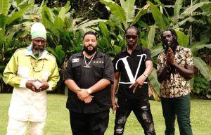 Capleton, Bounty, and Buju congratulate DJ Khaled on copping 3rd Billboard No. 1
