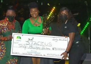 """Stacious """"grateful"""" after Jamaica Festival Song victory"""