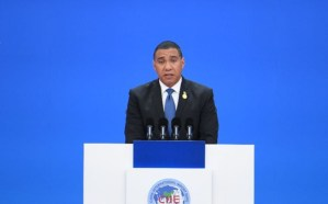 PM says Jamaica will not negotiate any new loan programmes with Chinese partners