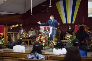 Prime Minister calls on church to help in tackling issue of corporal punishment