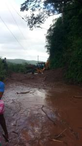 Broadgate Road in St. Mary cleared