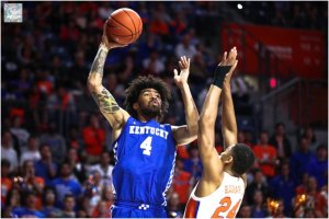 Nick Richards declares for NBA Draft