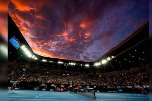 Action at the Australian Open will be confined to the three stadiums with retractable roofs