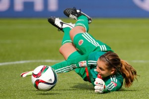 Goalkeepers at the women's World Cup will not be booked for stepping off the goalline