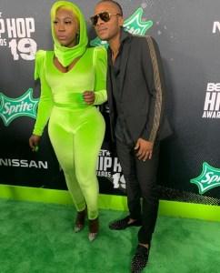 Spice and Dexta Daps rep dancehall at the BET Hip Hop Awards