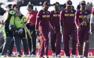 Despite the highly touted return of all-rounder Dwayne Bravo West Indies beaten by Ireland in T/20