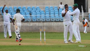 Game in the balance as 21 wickets fall on third day between Scorpions and Volcanoes