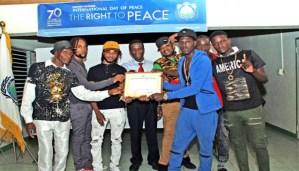 Just For Peace International gets Ambassador for Peace Award
