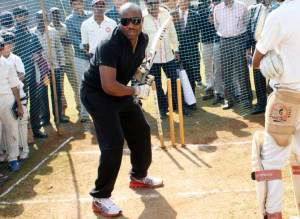 West Indies batting legend Brian Lara admitted to a hospital in Mumbai