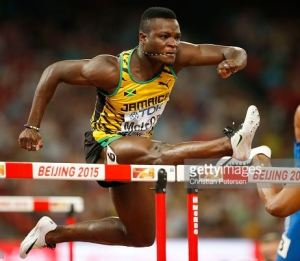 Omar McLeod in a star studded cast to compete at the 113th staging of the Millrose Games in New York