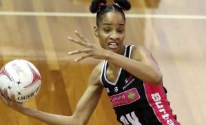 Shamera Sterling voted top team member by the Adelaide Thunderbirds