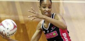 Shamera Sterling voted top team member by the Adelaide Thunderbirds