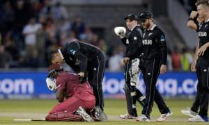 West Indies hopes of reaching the semi-final of the ICC Cricket World Cup derailed