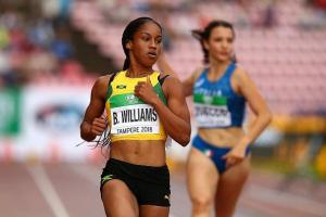 Briana Williams withdraws from remainder of (JAAA)/National Senior and Junior Championships