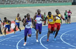 Calabar 115 points and Edwin Allen 131.5 leads the way, heading into 'Champs' final day