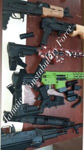 Police following strong leads into seizure of several high powered guns at St. James wharf