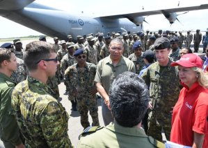 JDF contingent heads to Bahamas to help with recovery efforts