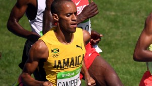 National Record Holder Kemoy Campbell retires from track & field on medical grounds