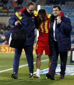 Neymar injured again …..will miss Barcelona opener