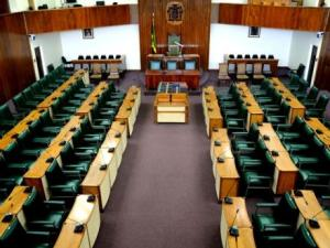 Opposition Parliamentarians walk out of Parliament