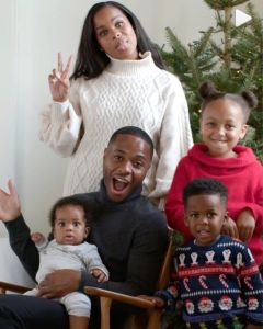 Raheem Sterling and family in H&M Christmas ad