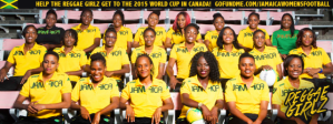 Senior Reggae Girls now in Trinidad