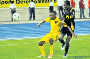 Reggae Boys brush aside Antigua and Barbuda 3-nil in Caribbean Football Championship……to keep their hope alive