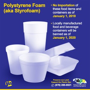 Gov't anticipating smooth implementation of Styrofoam ban