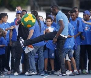 Bolt reveals season ending schedule which includes race on Brazil's Copacabana Beach