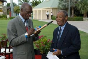 Wes Hall calls the retweet by WICB President Dave Cameron 'torrential tasteless'