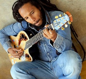 Ziggy Marley donates signed guitar for charity auction