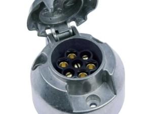 Stekkerdoos metaal 7 polig 12 volt