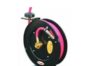 Slang haspel automatisch vet / hydraulisch 8 meter