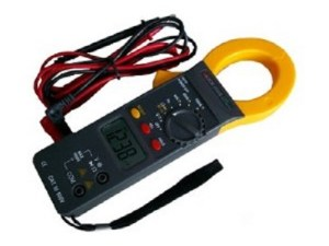 Digitale multimeter met A-tang