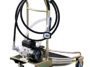 Olievatpomp 230 volt 200 liter incl. trolley