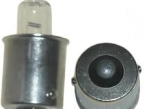 Halogeen lamp speciaal voor zwaailichtbalk 12 volt 5 Watt