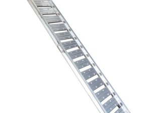 Aluminium oprijplaat model F