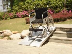 Oprijplaat voor rolstoel 1.8 meter