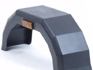 Spatbord kunststof enkelas 10 inch