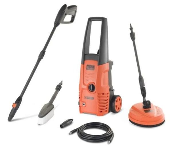 Hogedruk reiniger Black & decker 1500watt