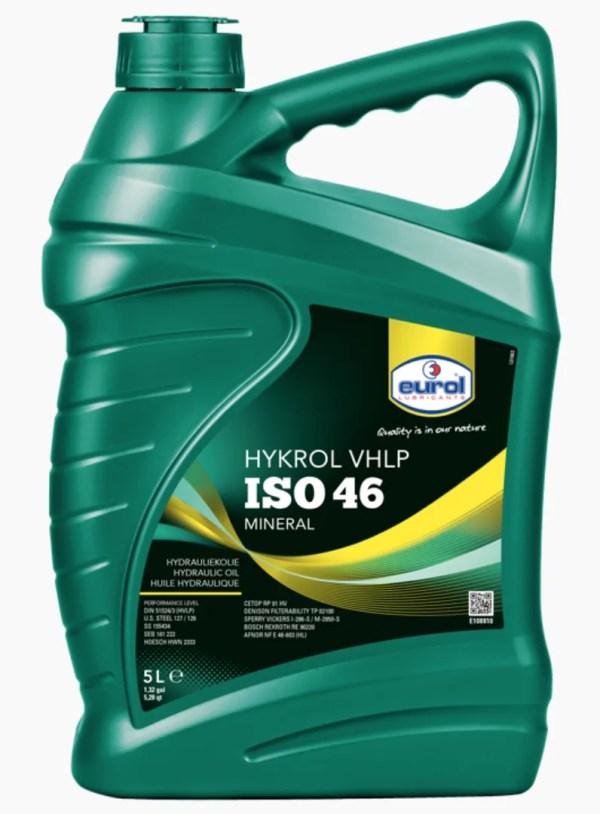 Eurol Hykrol VHLP ISO 46 hydrauliek olie 5L