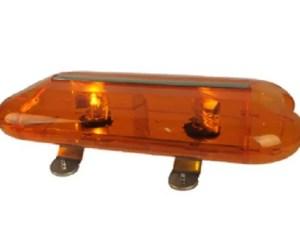 Oranje zwaailicht 12 volt halogeen